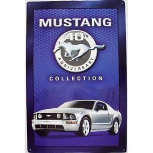 plaque mustang achat vente plaque mustang pas cher cdiscount. Black Bedroom Furniture Sets. Home Design Ideas