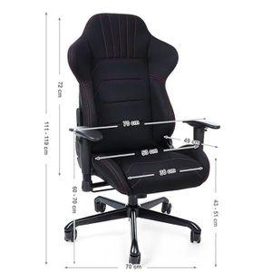 gamer de Superbe Chaise bureau Chaise pour Fauteuil R35LAq4j