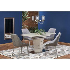 TABLE À MANGER SEULE Table à manger design extensible 140÷180 x 80 x 76