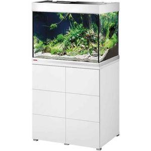 Aquarium Avec Meuble Blanc Achat Vente Pas Cher