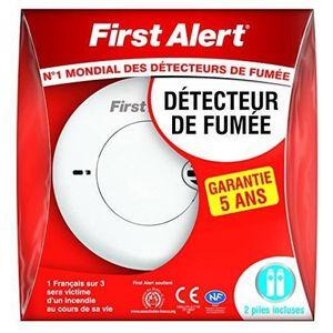 DÉTECTEUR DE FUMÉE First Alert 1 Détecteur Avertisseur Autonome de fu