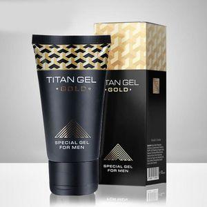 GEL - CRÈME DOUCHE Homme Gold Titan Gel Cream crème de massage extern