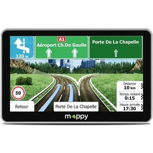 GPS AUTO GPS voiture MAPPY - MAXI E 738 • GPS