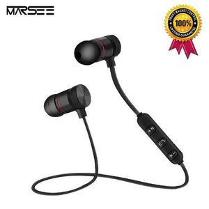 OREILLETTE BLUETOOTH Écouteur Bluetooth Magnétiques Casque Sans Fil Spo