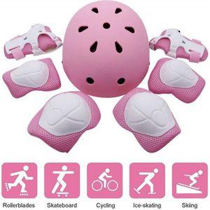 KIT PROTECTION Kit de Protections pour Enfants, Casque de Velo En