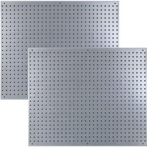 MODULE OUTILS Lot de 2 panneaux muraux d'atelier en métal
