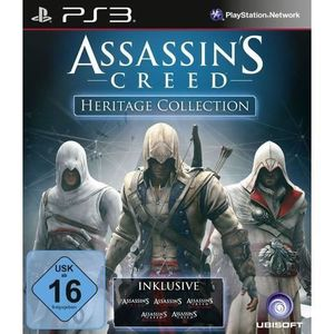 JEU PS3 ASSASSIN'S CREED - HERITAGE COLLECTION [IMPORT …