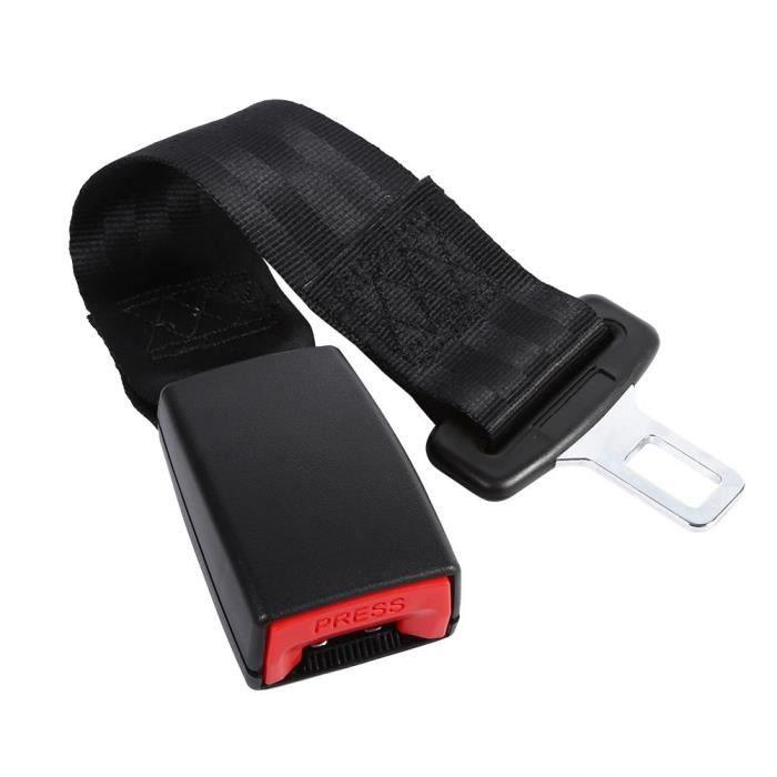 Ceinture universel voiture Ceinture sécurité ventrale extensible ventrale siège avec boucle noire auto moto - MOO