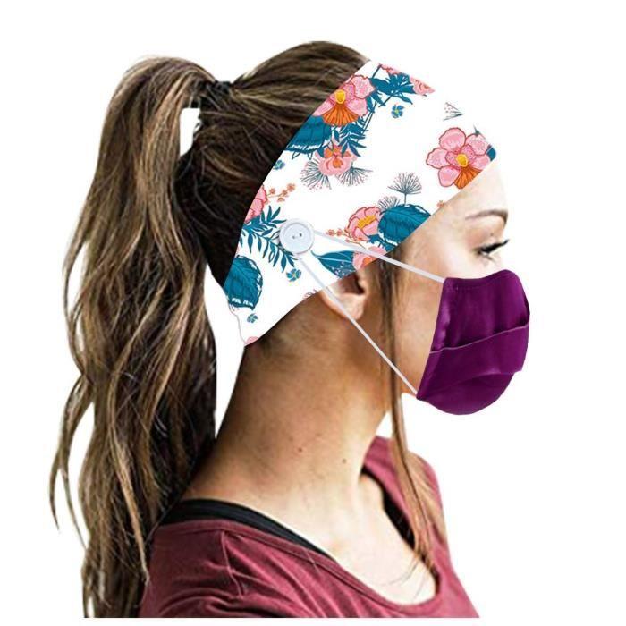 【HARNAIS DE TETE】Hommes Femmes Bandeau Bandeau Running Yoga Élastique Bandeau Cheveux Accessoires De Cheveux - Multicolore42