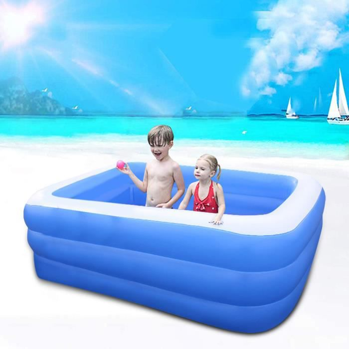 Articles de natation Enfants Ménage Épaissir Piscine Gonflable Pêche Océan Piscine À Balles CSF200427485_vir