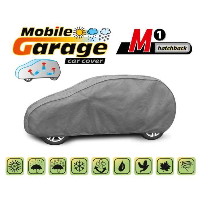 Bâche de protection Housse de protection voiture M pour Smart Forfour Imperméable Respirant