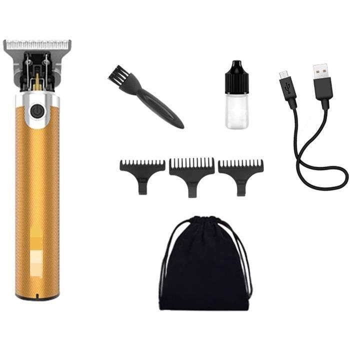 Homme Tondeuse Tondeuse Chauve Chauve Rechargeable Coup De Cheveux lectrique Tondeuse sans Fil 0 Mm Coup De Cheveux pour Homme[1067]