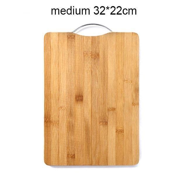 Planche à découper,Planche à découper suspendue en bambou, blocs à découper en bois, outil Rectangle accessoires de - Type medium