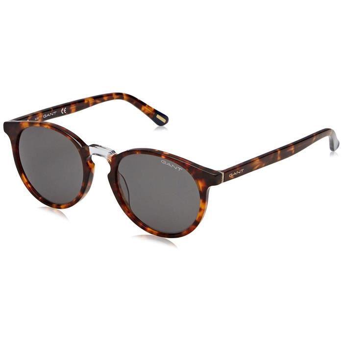 Gant GA7110 Montures de lunettes, Marron (Havana/Other/Green), 52 Homme - GA7110 56N