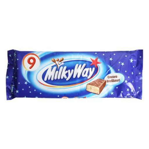 Milky Way 9 Pack (lot de 4)