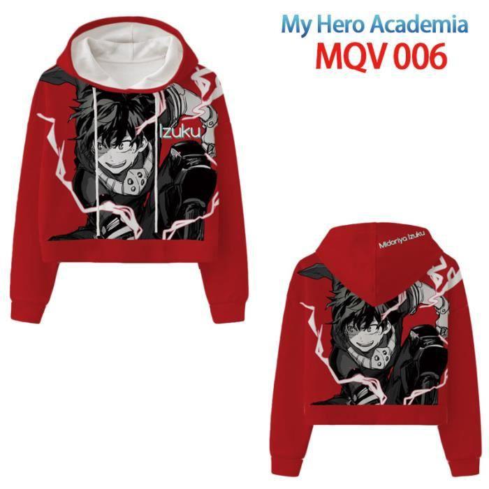 sweatshirt homme capuche,Mon Héros Universités Sweater à Capuche Dessin Animé Anime Cosplay Costume Sweats Himiko Toga 3D IMPRIMER