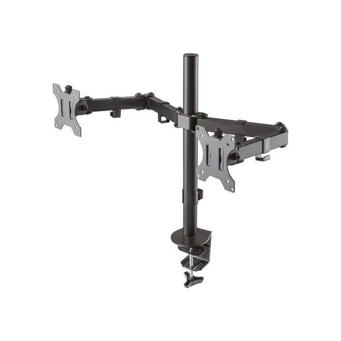 NEWSTAR Support d'écran plat FPMA-D550DBLACK pour bureau - Noir - 2 Display(s) Supported 81,3 cm - 16 kg Max - 75 x 75 VESA