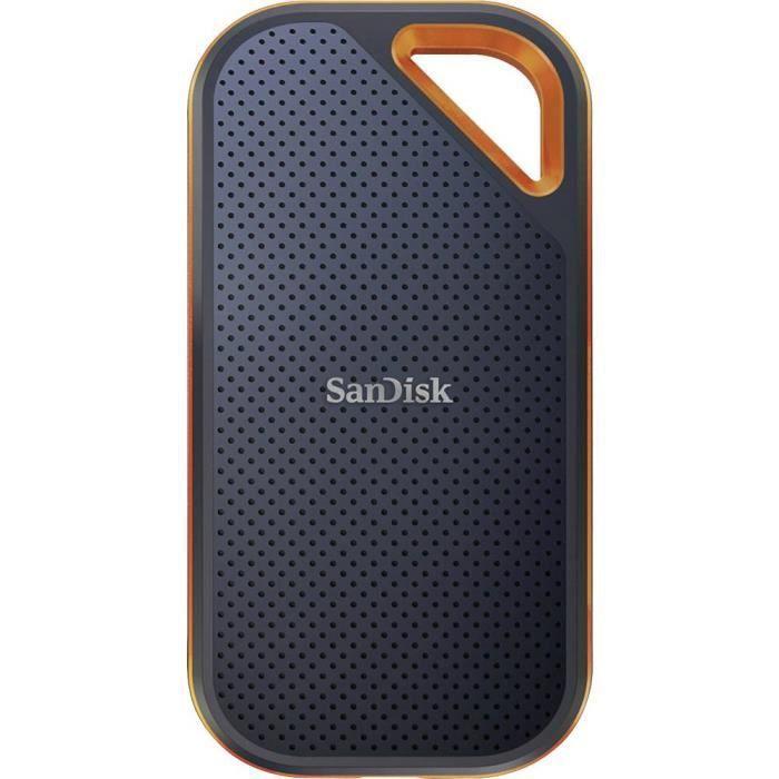 SanDisk SDSSDE81-1T00-G25 Extreme® Pro Portable Disque dur externe SSD 2,5 1 TB noir, orange USB