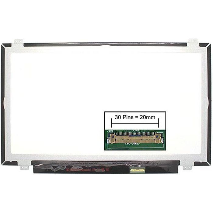 Dalle écran LCD LED type Sony 181188311 14.0 1920x1080 - Mate