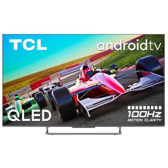 TCL 75C727 - TV QLED UHD 4K - 75- (190cm) - Dalle 100Hz - Dolby Vision - son Dolby Atmos ONKYO - Android TV - 4 x HDMI 2.1