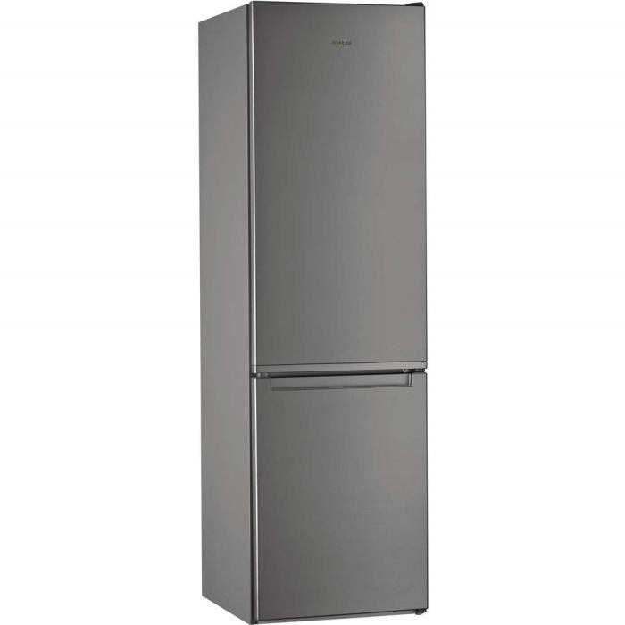 Whirlpool W7 931A OX réfrigérateur-congélateur Autonome Acier inoxydable 368 L A+++ - Réfrigérateurs-congélateurs (368 L, SN-T, 10 k