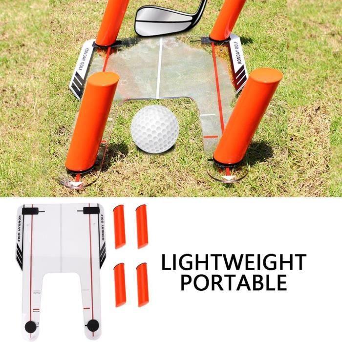 Entraîneur de swing de golf Aide Outil de pratique de golf Outil d'entraînement au golf Équipement formation Accessoire de golf