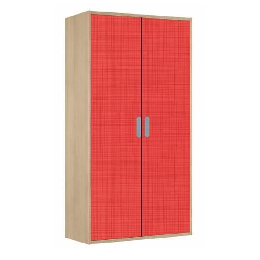 armoire enfant charlie bouleau rouge achat vente. Black Bedroom Furniture Sets. Home Design Ideas