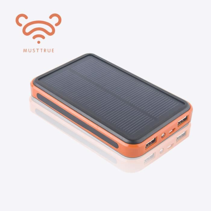 50000mah chargeur solaire powerbank imperm able l 39 eau. Black Bedroom Furniture Sets. Home Design Ideas