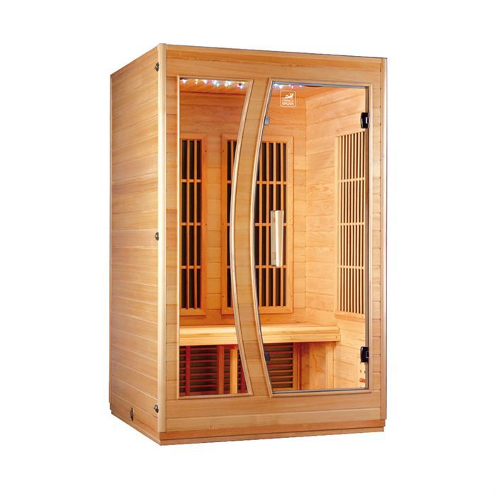 sauna infrarouge 2 places star a achat vente kit sauna. Black Bedroom Furniture Sets. Home Design Ideas