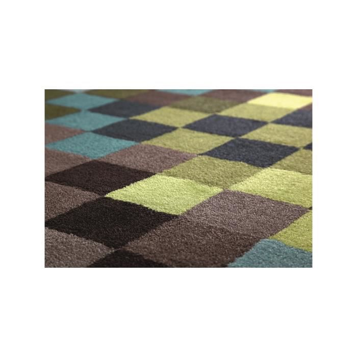 esprit tapis pixel vert 200x200 cm achat vente tapis. Black Bedroom Furniture Sets. Home Design Ideas