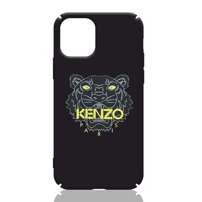 coque apple iphone 11 kenzo noir coque compatible