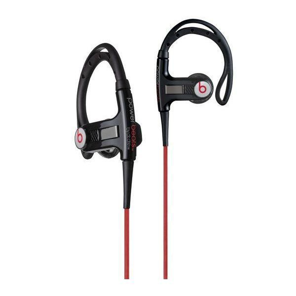 couteurs monster powerbeats sport by dr dre noir casque couteur prix pas cher soldes. Black Bedroom Furniture Sets. Home Design Ideas