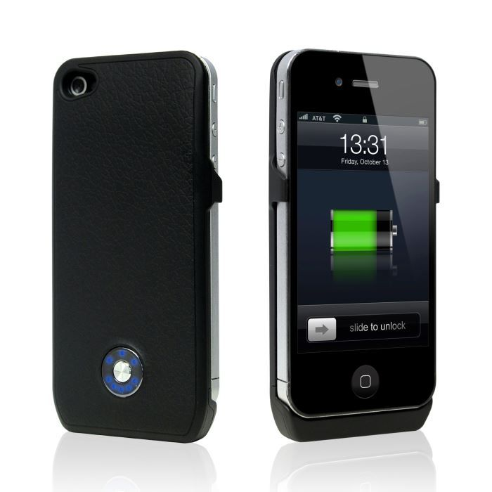 coque batterie iphone 4 4s power case 1800mah b achat. Black Bedroom Furniture Sets. Home Design Ideas