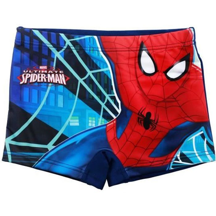 Spiderman Maillots de Bain Boxer de Bain 2 Ans