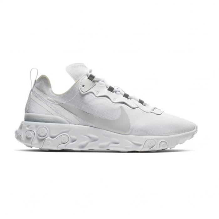 Basket mode Nike React Element 55 SE Blanc