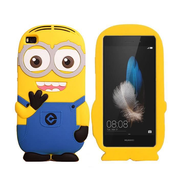3D Despicable Me Minion Silicone Coque Style Case. Matiere: gel case