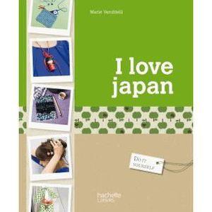 LIVRE LOISIRS CRÉATIFS I love Japan