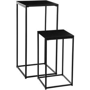 et console cm IMPAKT Style Noir Selette 30 industriel redCxBo