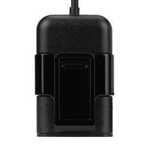 HUB 38W 4 ports USB passagers chargeur de voiture + Ex