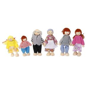 MAISON POUPÉE MAISON - ACCESSOIRE MAISON POUPEE Wooden Dolls per
