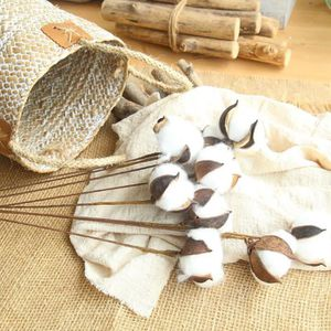 FLEUR ARTIFICIELLE Potences coton naturellement séchées Ferme de fleu