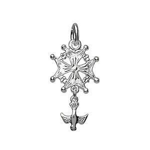 PENDENTIF VENDU SEUL Pendentif croix huguenote md