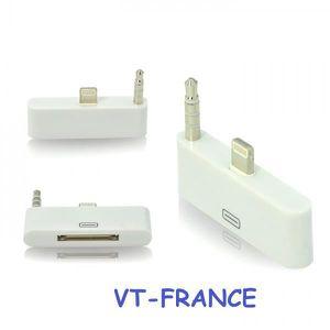 CLÉ USB Adaptateur 30 pin vers 8 pin pour iPhone 5 / 6 iPa