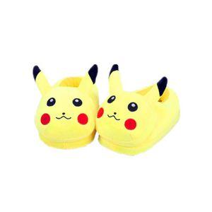 CHAUSSON - PANTOUFLE Chaussons Pantoufles Maison Pokemon Go Pikachu