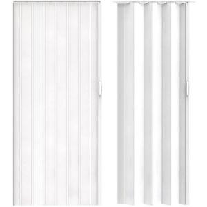 CASIER POUR MEUBLE Porte Accordéon PVC Pliante Moderne avec Fermeture