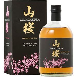 WHISKY BOURBON SCOTCH Yamazakura - Whisky Japonais - 40%vol - 70cl avec