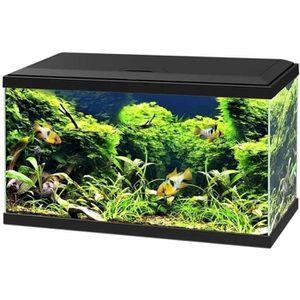 AQUARIUM Ciano - Aquarium 60 LED - Noir