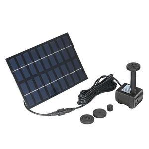 FONTAINE DE JARDIN nouveau Énergie solaire pompe à eau brushless DC p