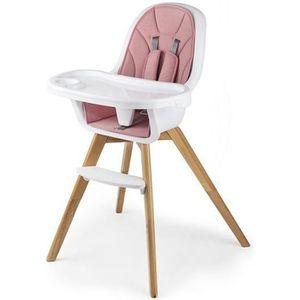 CHAISE HAUTE  Kinderkraft TIXI Chaise haute bébé 2en1 Evolutive
