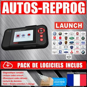OUTIL DE DIAGNOSTIC LAUNCH CREADER CRP129 PREMIUM - Valise Diagnostiqu